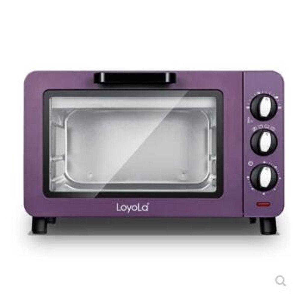 迷你家用多功能烘焙15升小電烤箱小型獨立控溫220VLX 嬡孕哺 聖誕節禮物