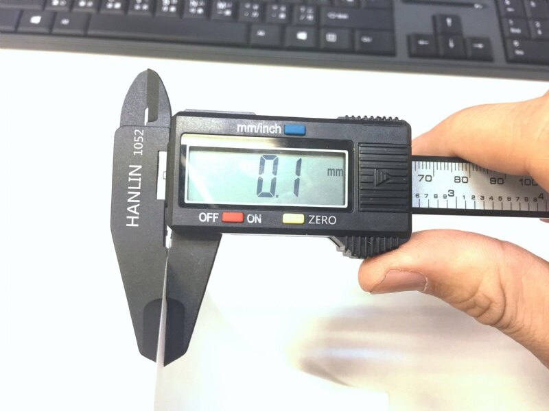 HANLIN-1052大螢幕液晶顯示遊標尺 一目了然-快速測量-學生設計人必備 【風雅小舖】