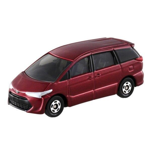 大賀屋 日貨 100 豐田 ESTIMA  Tomica 小汽車 多美小汽車 合金車 玩具車 正版 L00011388