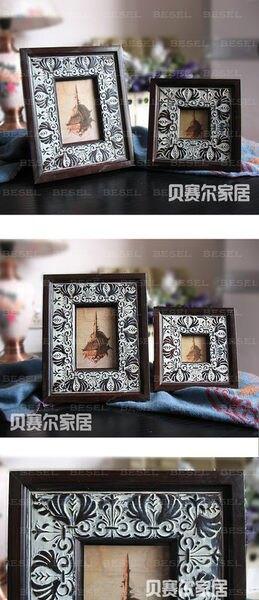 古典雕花  歐式 樣板房擺設相框