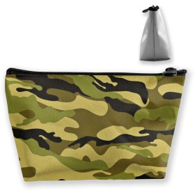 Cosmetic Bag Makeup Bag - Bathroom - Storage (Army Camouflage 3D Print)