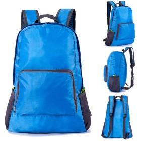韓国語バージョンのショルダーバッグ防水スキンパックスポーツバックパック折りたたみ旅行バッグ7