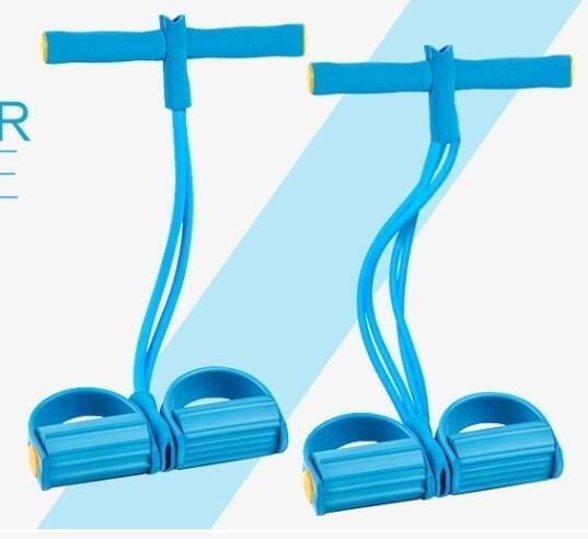 仰臥起坐拉力器家用減材腳蹬彈力繩TW