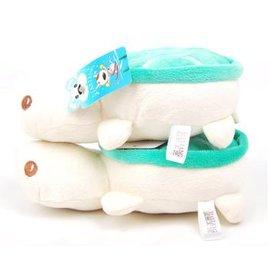 【響聲玩具-小海龜-毛絨-20-2個/組】 狗狗玩具 寵物發聲響聲貓咪玩具 無毒 可愛 顏色隨機發,長寬:20cm,2個/組-79011