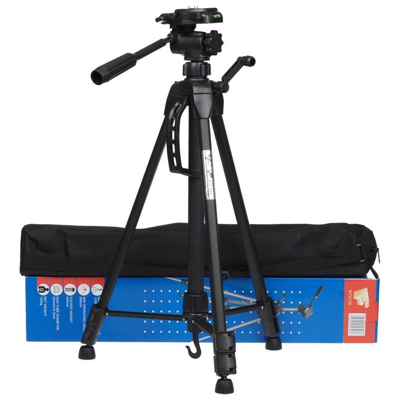 偉峰WT3730A單反相機微單手機支架三角架便攜攝影入門級三腳架TW