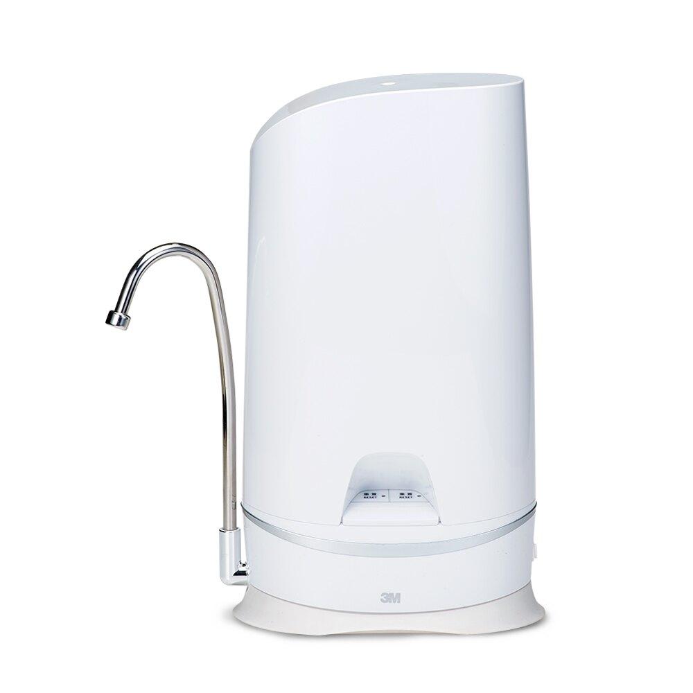 3M WaterDuo DIY濾淨軟水雙效型淨水器-鵝頸款