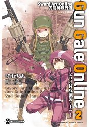 Sword Art Online刀劍神域外傳 Gun Gale Online (2)─2nd特攻強襲─ (上)