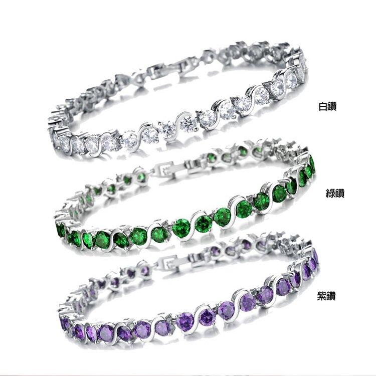 【5折超值價】時尚精美特色鑲鑽造型女款手鍊