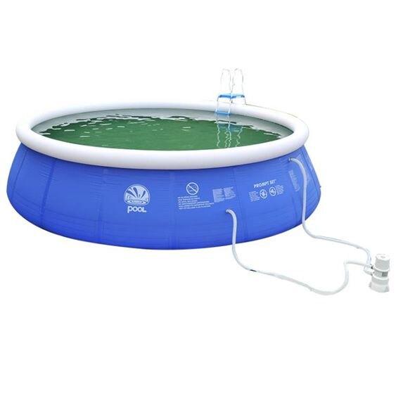 充氣泳池超大號家庭游泳池小孩嬰兒寶寶家用大型成人戶外加厚兒童充氣水池