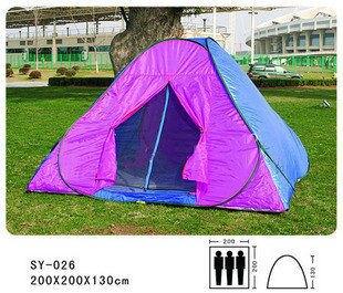 三人單層帳篷