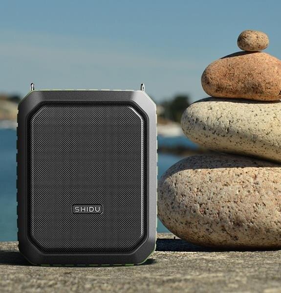 擴音器 十度 S618 無線小蜜蜂擴音器教師專用三防戶外手機智慧導游大功率喇叭音箱音響 維多