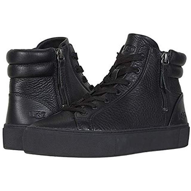 [アグ] レディーススニーカー・靴・シューズ Olli Black 24cm B - Medium [並行輸入品]