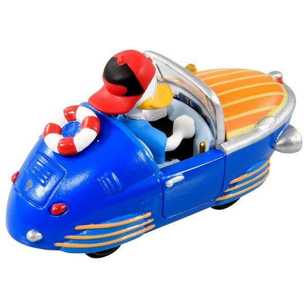 【Fun心玩】MRR-08 DS11996 麗嬰 日本 TOMY 多美 Disney 迪士尼 米奇妙妙車隊-唐老鴨小車