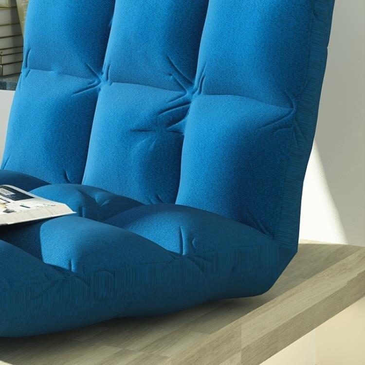 懶人沙發榻榻米坐墊單人折疊椅床上靠背椅飄窗椅懶人沙發椅