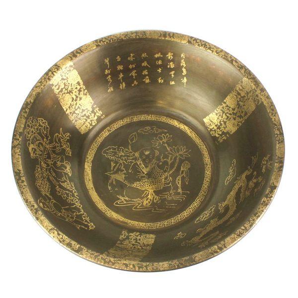 【小】 黃銅盆 仿古盆