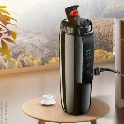 【G350車載電熱杯(12V)-350ml-1款/組】汽車加熱杯水杯燒水壺燒開水快速加熱可調溫-5201001