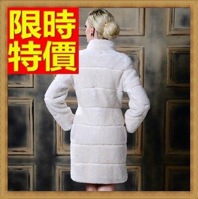 皮草外套真羊毛皮草大衣-保暖修身中長款女真皮夾克2色64ab20【俄羅斯進口】【米蘭精品】