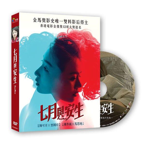 【停看聽音響唱片】【DVD】七月與安生