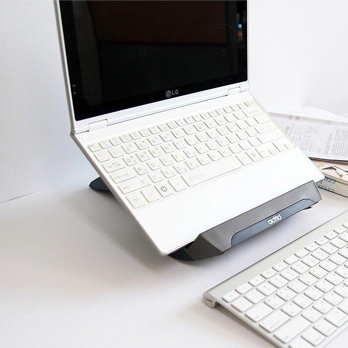 店長推薦韓國actto筆記本電腦支架底座托架增高架子ipad平板支架保護頸椎