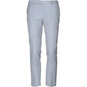 《セール開催中》BRIAN DALES メンズ パンツ ブルー 50 ウール 73% / 麻 25% / ポリウレタン 2%