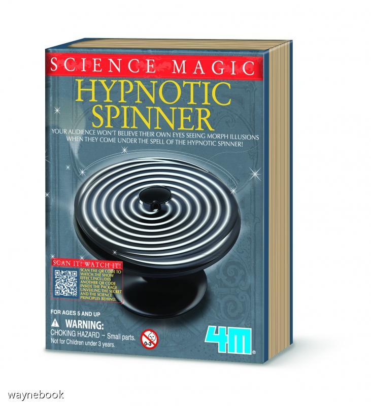 【4M】06702 科學探索系列-魔幻之輪 Hypnotic Spinner