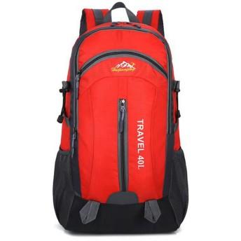 LKJASDHL 旅行用ラップトップバックパック、ビジネス用盗難防止用スリムで頑丈なラップトップバックパック(USB充電ポート付き)、防水カレッジスクールコンピュータバッグ(女性用・男性用)16インチラップトップおよびノートブックビジネスバッグ(男性用) (色 : レッド)