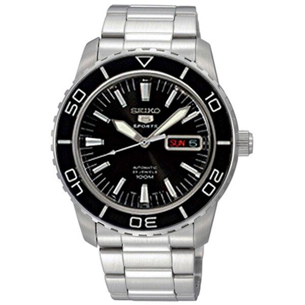 SEIKO黑框機械錶SNZH55J1【NES60】