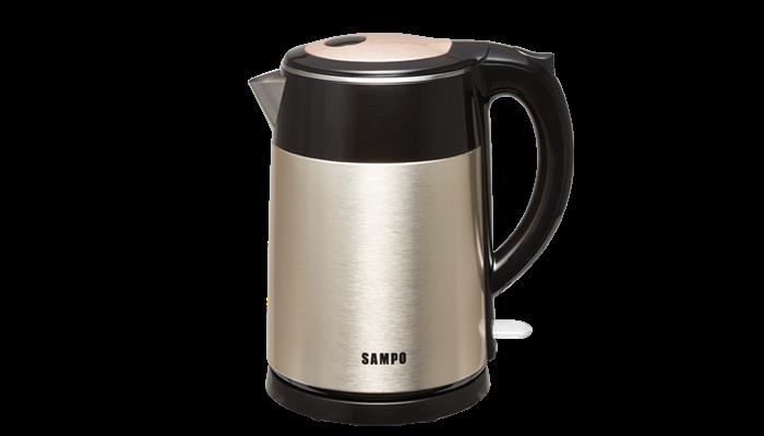 SAMPO 聲寶  1.5L雙層防燙不鏽鋼快煮壺 KP-SF15D