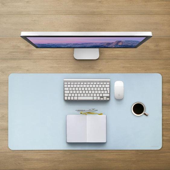 筆記本電腦桌墊辦公室桌面墊子大小號學生學習寫字書桌墊遊戲滑鼠墊商