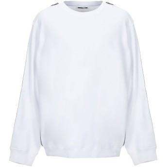 《セール開催中》McQ Alexander McQueen メンズ スウェットシャツ ホワイト XS コットン 100%