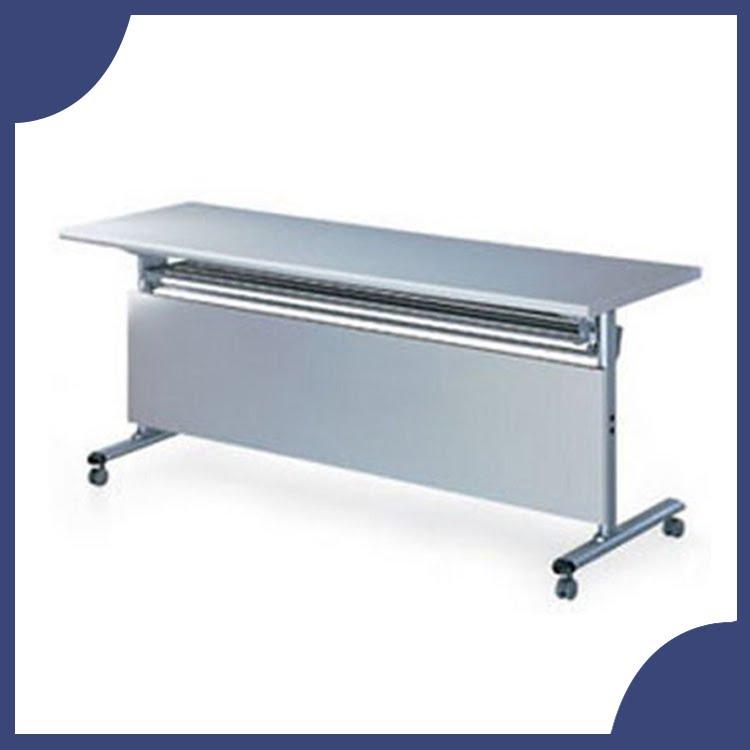 『商款熱銷款』【辦公家具】FCT-1560G 灰色折合式 會議桌 書桌 鐵桌 摺疊 臨時 活動