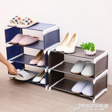 家用大號布藝鞋架多層簡易組裝收納架鞋櫃防塵宿舍經濟加粗鞋架子WD 喜迎新春