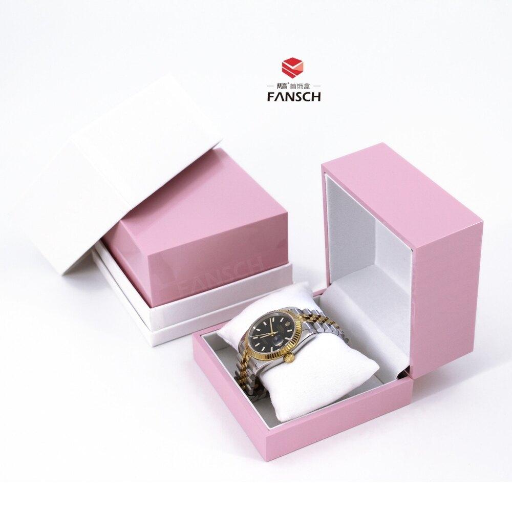 高檔精緻手錶盒 發光手錶禮盒 一個起私人定製禮盒 寶寶手鐲盒子