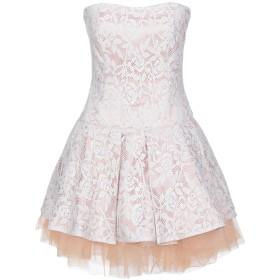 《セール開催中》LA KORE レディース ミニワンピース&ドレス ホワイト 0 コットン 100%