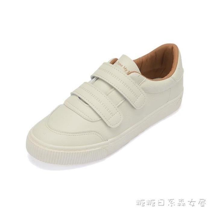 小白鞋女原宿ulzzang帆布鞋超火春季新款韓版百搭板鞋