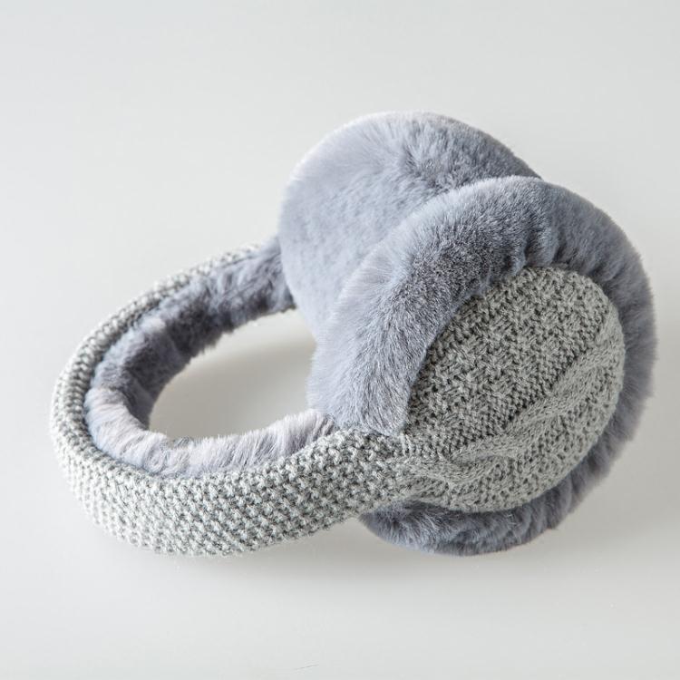 新款冬季毛線針織耳罩韓版可愛保暖學生耳套秋天男女騎行耳包耳暖