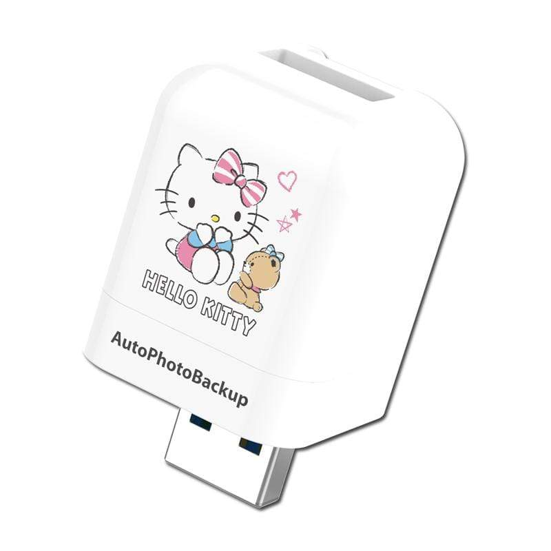 Hello Kitty 蘋果專用備份方塊  正版授權(不含記憶卡) 單入組