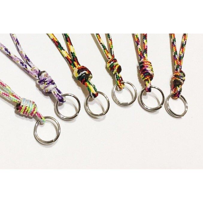 如易品*賴嬤嬤*平安開運-手作五色線-DIY吊繩-吊飾:誦經加持祈福,好運、好助力