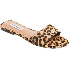 [スティーブマデン] シューズ サンダル Bev Slide Sandal Leopard Su レディース [並行輸入品]