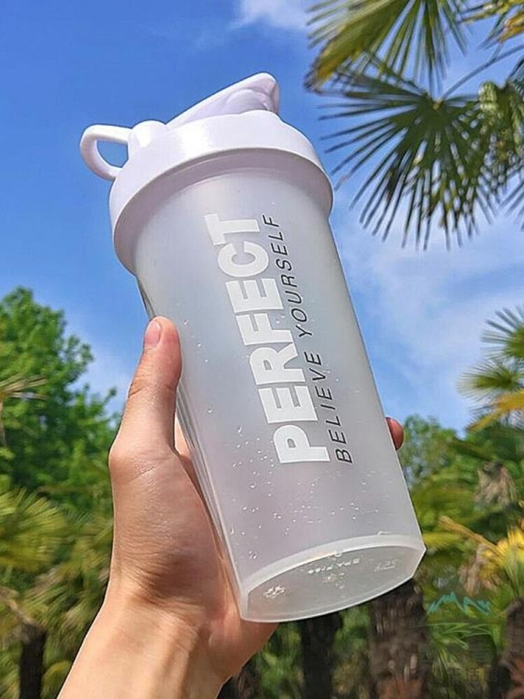 搖搖杯健身杯攪拌杯奶昔水杯子運動便攜塑料水壺