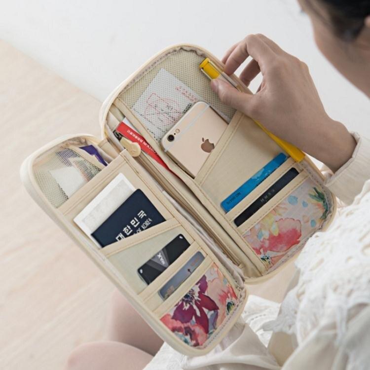 旅行出國證件包護照包多功能證件袋旅遊卡包錢包旅行機票夾保護套
