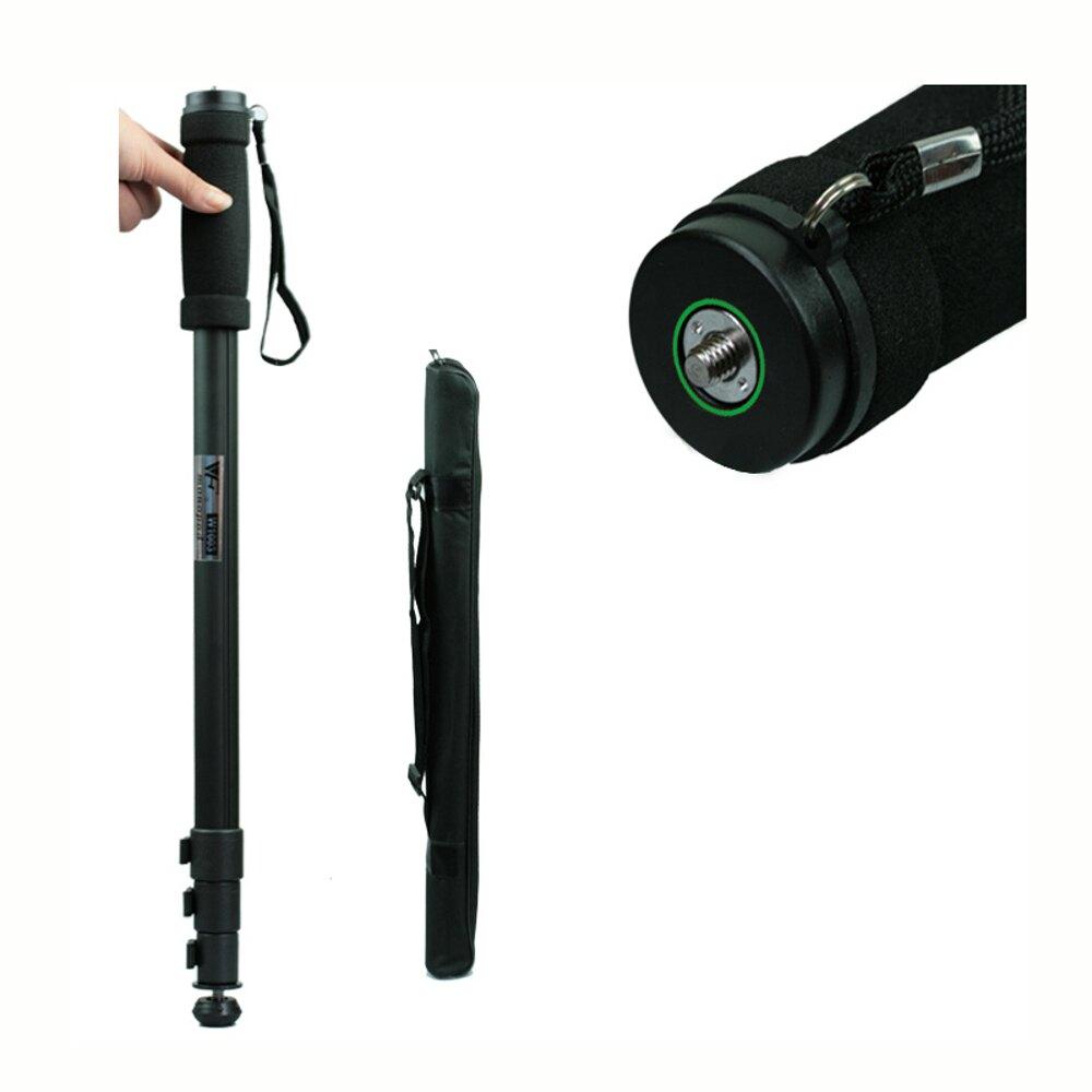 單反相機獨腳架支架攝像機單腳架獨角架可作登山杖適用於佳能配件     【歡慶新年】