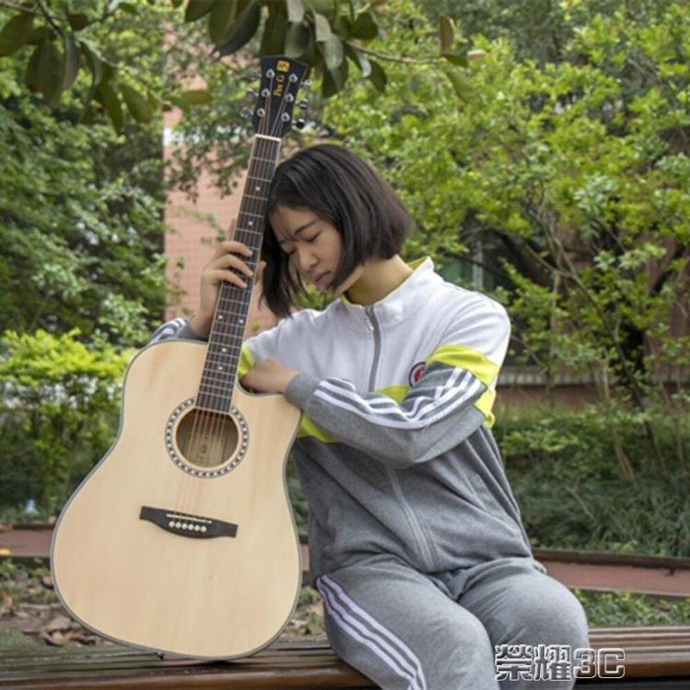 吉他 民謠吉他 40寸41寸吉他 初學者吉他 jita 新手入門吉它 年貨節預購