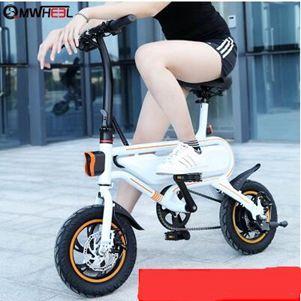 機車輕邁電動自行車成人助力車 輕便迷你小型摺疊式代駕鋰電池電瓶車  NMS 露露日記