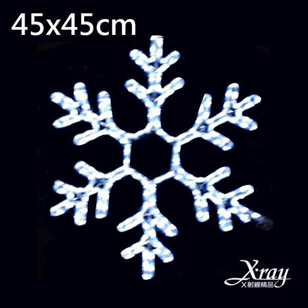 聖誕雪花燈白光(110V),LED燈飾/聖誕佈置/聖誕掛飾/裝飾/吊飾/聖誕樹,X射線【X214600】