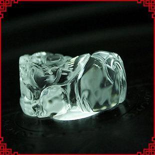 白水晶掛墜 貔貅吊墜 首選