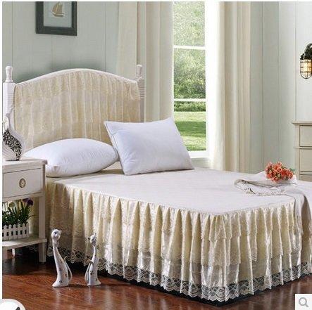 整點聚 韓版公主床裙 蕾絲花邊 涼席伴侶 床上用品