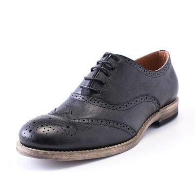 短靴真皮繫帶靴子-巴洛克雕花復古英倫風男靴3色73kk100【獨家進口】【米蘭精品】