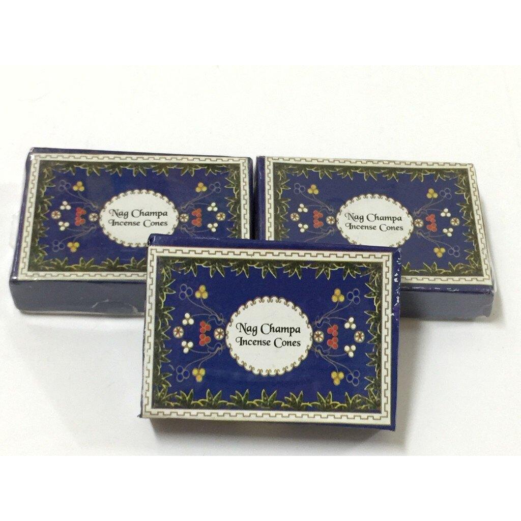 [綺異館]印度香 素馨花+檀香 塔香 Singh Nag Champa cone 新品上市 另售印度皂