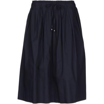 《セール開催中》PRINCESS GOES HOLLYWOOD レディース ひざ丈スカート ダークブルー 42 コットン 100%